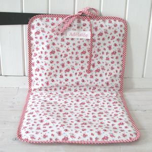 Oilcloth Changing Mat - baby changing