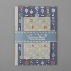 Scribble Squares Notebook Set
