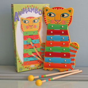 Colourful Cat Xylophone