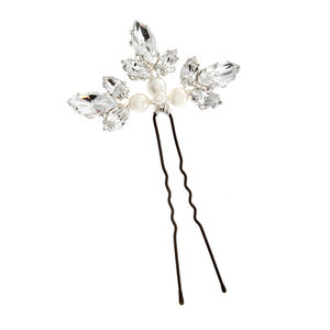 Angel Crystal And Pearl Hairpin - hair accessories