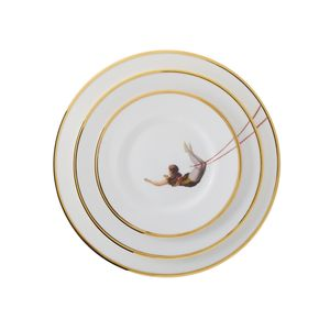 Trapeze Girl Bone China Plate - sale by category
