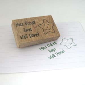 Personalised Teacher Stamp - gifts for teachers