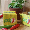 Grow Your Own Chilli Gro'pot Set