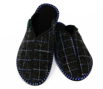 Glasgow Dark Slippers