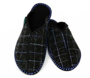 Glasgow Dark Slippers - men's fashion