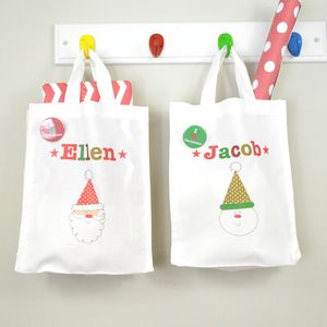 Personalised Christmas Party Gift Bag - christmas food & drink