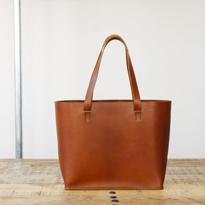 Ellie Leather Tote