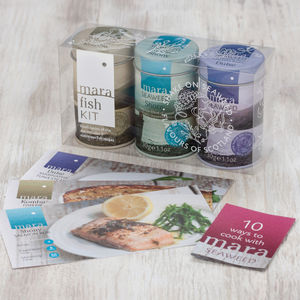 Seaweed Fish Kit - food gifts