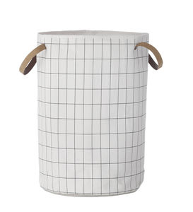 Grid Laundry Basket - laundry bags & baskets
