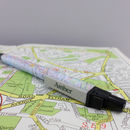Personalised Map Location Pen