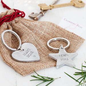 Personalised Christmas Keyring