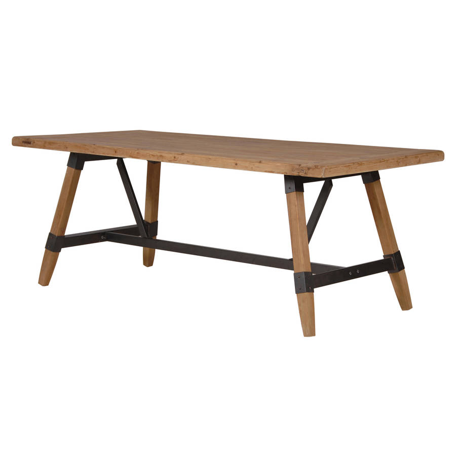 Industrial Dining Table By Out There Interiors