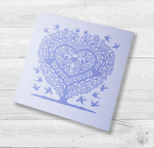 Love Birds Wedding And Engagement Card - wedding cards & wrap