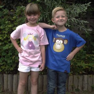 Personalised Children's Character T Shirts - t-shirts & tops