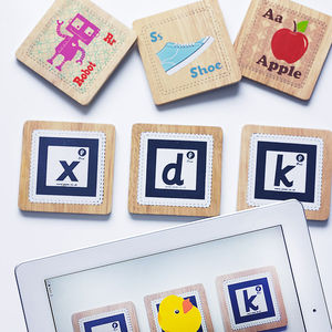 Interactive Alphabet Cards