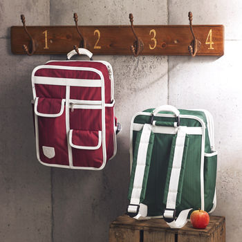 Multi Pocket Retro Backpack