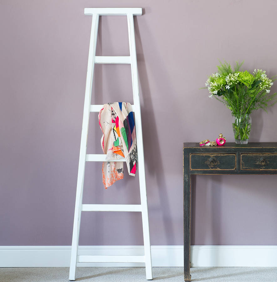 Coloured Wood Towel Ladders By Orchid Notonthehighstreet Com