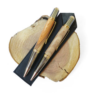 Fearnley Chunky Recycled Wood Ballpoint Pen