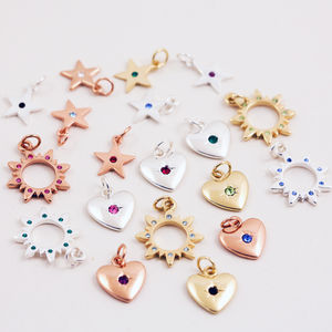 J + S Jewellery Bracelets Add On Birthstone Charms - women's jewellery