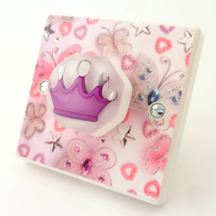 pink butterfly bedroom light switch by candy queen designs ...