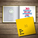 30th Birthday Gift Personalised Book Of Everyone