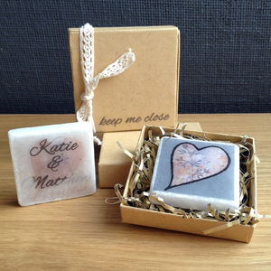 Personalised Heart Keepsake Gift - ornaments