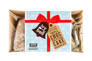 Yuletide Chocolate ' Bake In The Box' Kit - wedding cakes