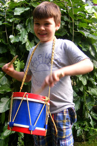 Marching Drum - traditional toys & games
