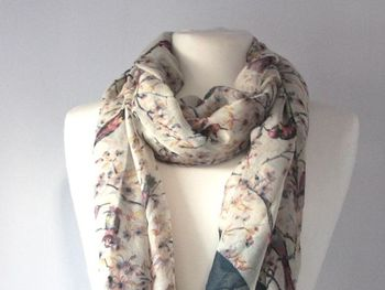 Birds And Trees Scarf