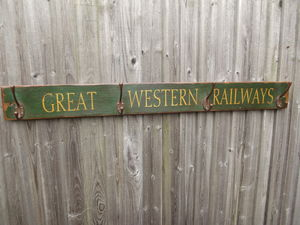 Large Reclaimed Railway Hook Board