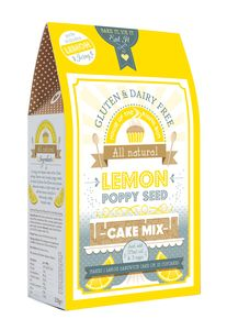 New Gluten And Dairy Free Lemon And Poppy Seed Cake Mix - dairy free food gifts