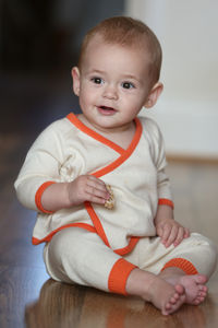 Cotton And Cashmere Baby Cardigan