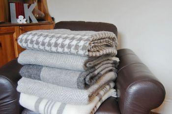 Natural Wool Throws