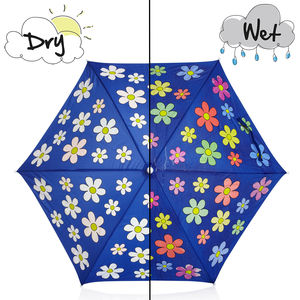 Children's Colour Changing Flower Umbrella