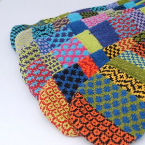 Colourful Knitted Eco Mittens
