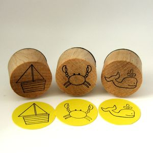Ocean Stamp Story Set - toys & games