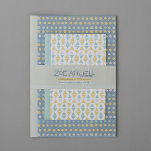 Dotty And Triangle Notebook Set