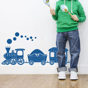Train Wall Stickers - decorative accessories