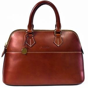 Leather Dahlia Handbag - shoulder bags