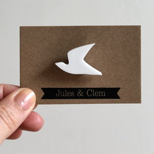 Dove Brooch - pins & brooches