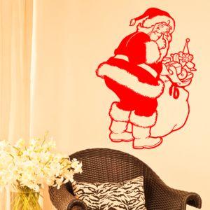 Christmas Santa Wall Sticker