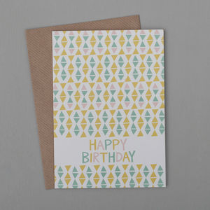 Off Kilter Birthday Card