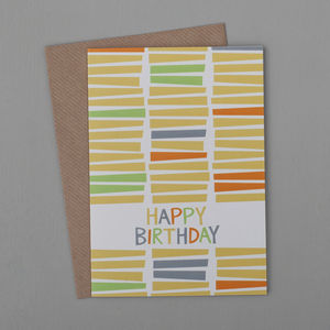 Stacks Birthday Card - birthday cards