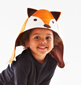 Fox Costume Baby And Child Hat - shop by colour: orange
