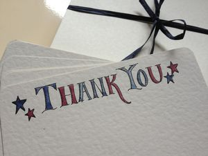 Eight Children's Thank You Cards - thank you cards