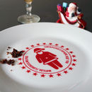 Personalised Santa Christmas Plate