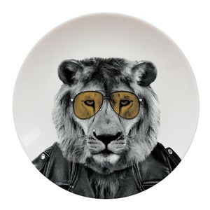 Larry Lion Plate