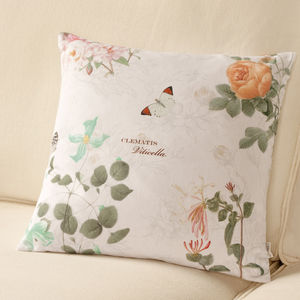 Patterned Floral Cushion - cushions