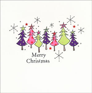 Pack Of Five Christmas Cards - home sale