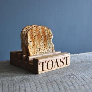 Personalised Toast Rack